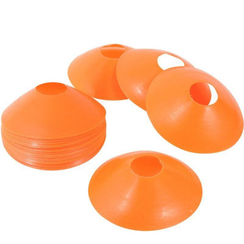 25pc Disc Cones Soccer Football Field Training Aids Equipment Team Sport Marking