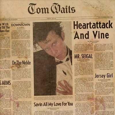 TOM WAITS HEARTATTACK AND VINE 180 GRAM VINYL LP (Released 14/09/2018)