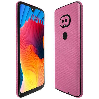 Skinomi Pink Carbon Fiber Skin Cover For T-Mobile REVVLRY 2019  - $15.95