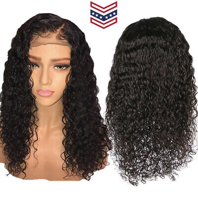 Brazilian Less Lace Front Full Wig Bob Wave Black Natural Looking Women Wigs HOT ()