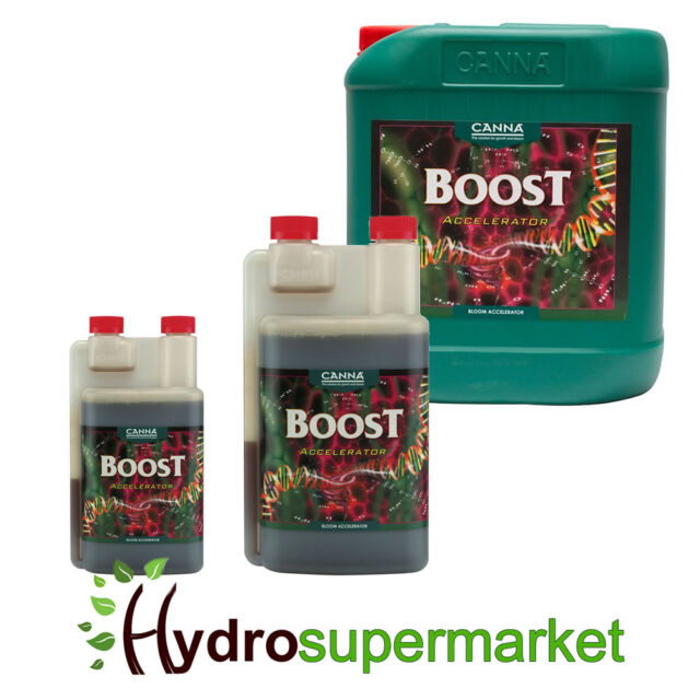 CANNA BOOST ACCELERATOR BLOOM FLOWER STIMULATOR ENHANCER BUD BOOSTER 250ML 1 5L