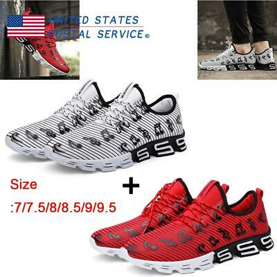 Simple Men's Sports Running Shoes 2 Pcs/Set Casual Travel Breathable Mesh Shoes