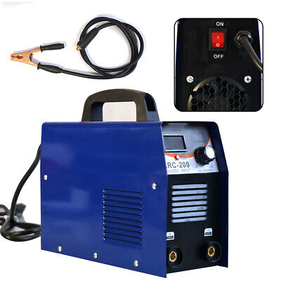 200a Welder Mmastickarc Welding Machine Inverter Ac Dc Stick Welder 110v Best