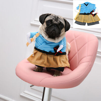 2018 Dog Costume Apparel Pug Chihuahua Cosplay Clothes for Pets Free Shipping