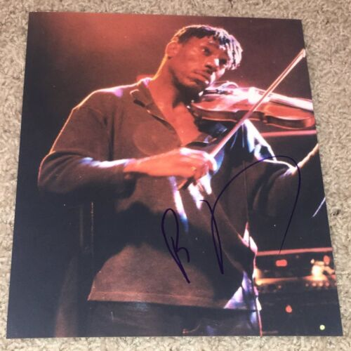 BOYD TINSLEY SIGNED DAVE MATTHEWS BAND DMB 8x10 A w/PROOF