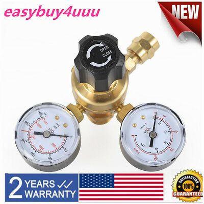 Mig Tig Flow Meter Regulator Argon Co2 Welding Regulator Gauge Gas Welder Cga580
