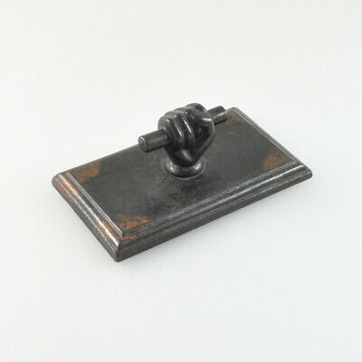 Paperweight - Solidarity - Clenched Faust - Vintage - Desk - Iron