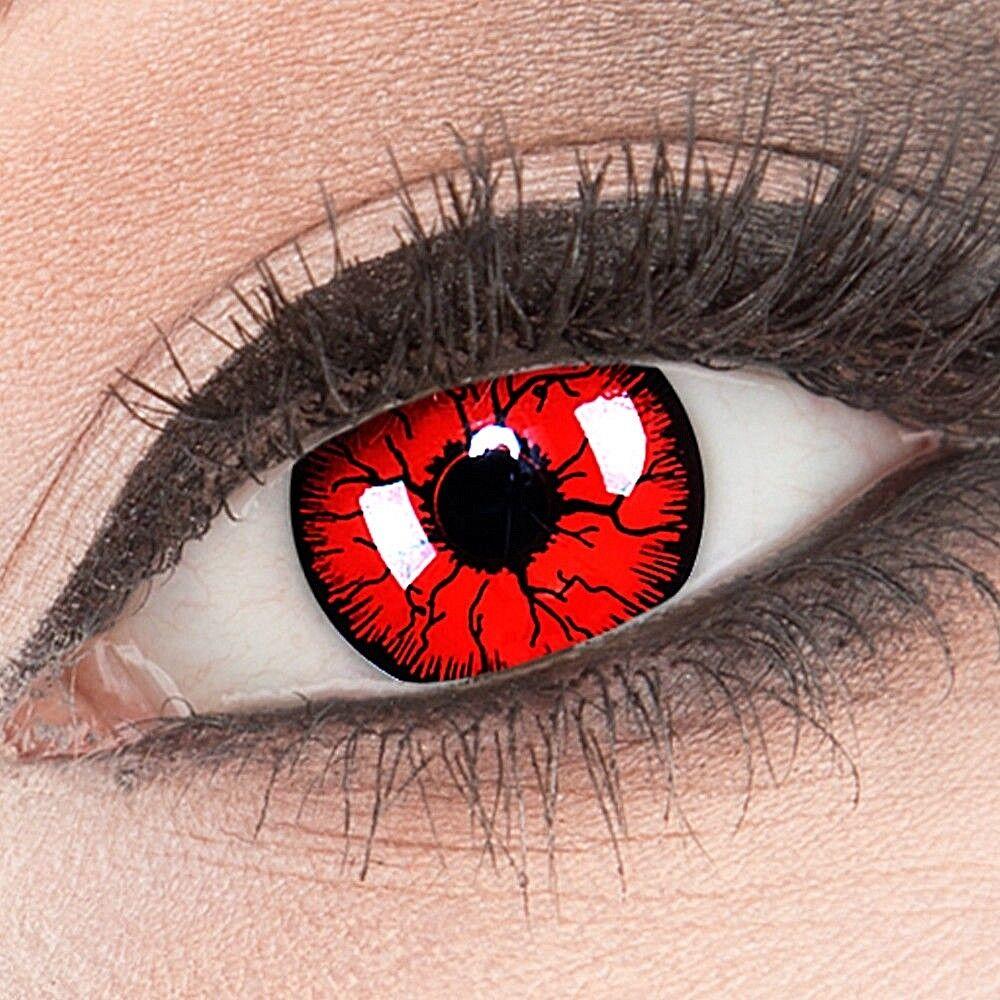 Farbige Kontaktlinsen MIT Stärke Metatron Fun Crazy  Fasching + Halloween