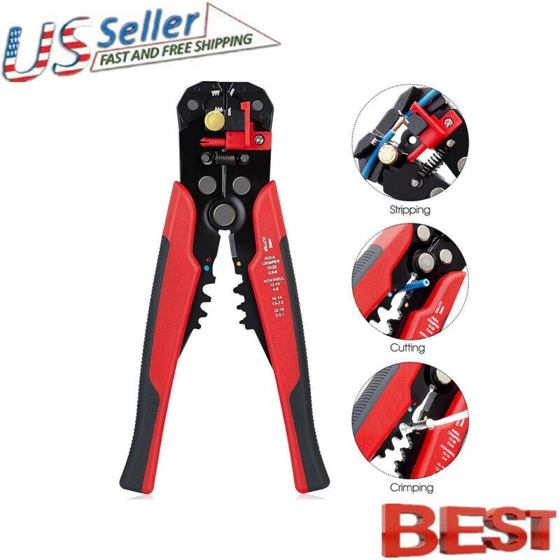 Self Adjusting Insulation Wire Stripper Cutter Crimper Cable