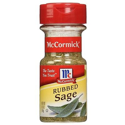 McCormick Rubbed Sage 0.50 oz (Pack of 5)