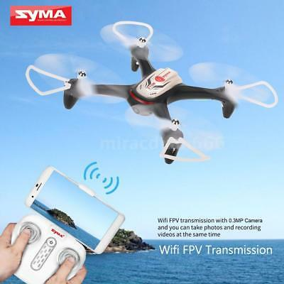 Syma X15W Wifi FPV 0.3MP Camera RC Quadcopter G-sensor Apogee Headless Mode F6T1