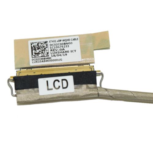 DC02C00CY10 40PIN LCD Cable WQHD 01YN995 01YN996 for Lenovo Thinkpad T480S gt