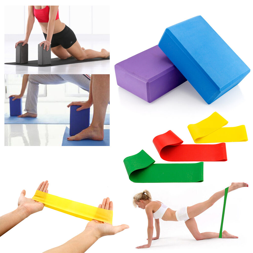 New Yoga Foaming Foam Brick Block Home Health Gym Exercise F