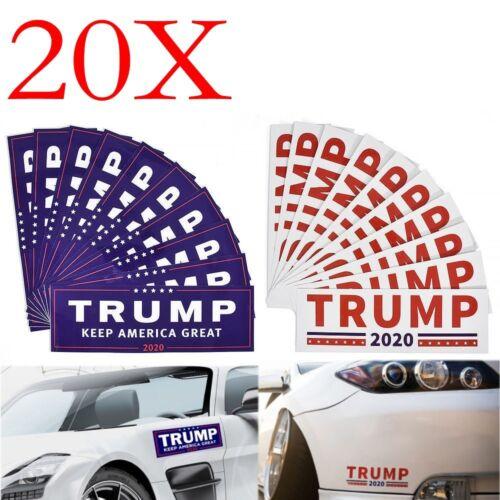 25 Pack Donald Trump for President Make America Great Again Bumper Stickers