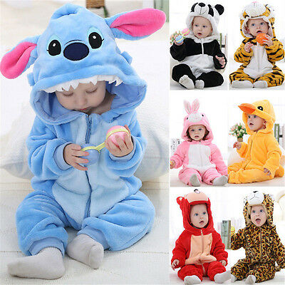 2017#Hot Halloween Unisex Baby Toddlers' Pajama Kigurumi Animal Cosplay Costume