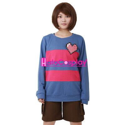 Heart Halloween Costume (Frisk Cosplay Halloween Costume Women Sweatshirt Including)