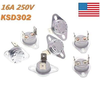 5x Temperature Switch Control Sensor Thermal Thermostat 40c-180c Nonc Ksd302