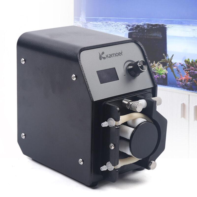 8W Aquarium Peristaltic Circulation Pump Aquariums Filters For Calcium Reactor