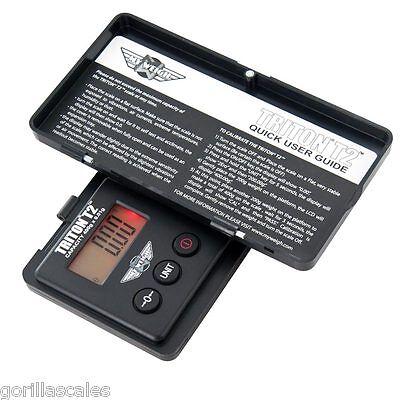 My Weigh Triton T2 400 Precision Pocket Gram Scale 400g X 0.01g Troy Dwt Black