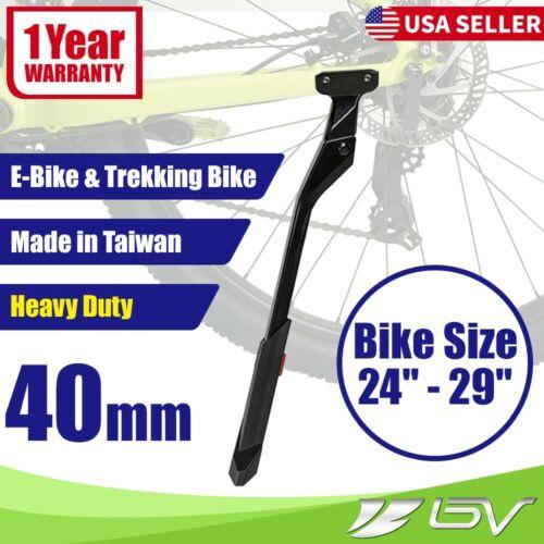 BV e Bike Kickstand Rear Mount Heavy Duty Side Stand For Electric Trekking Bike