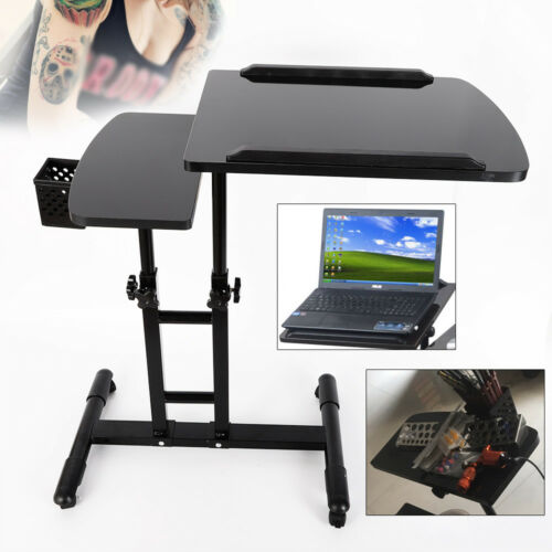 Tattoo Workbench Piano Paint Double Countertops 360 Degrees