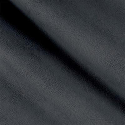 Navy Faux Leather - Fabric Richloom Tough Faux Leather Pleather Vinyl Tiona Navy Charcoal PP11