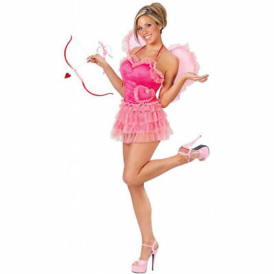 Cupid's Kiss Pink Sexy Fairy Women's Halloween Costume - Kiss Halloween Kostüme