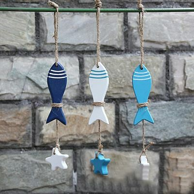 Marine Pendant Fish Skewer Starfish String Fish Nautical Decor Crafts - Nautical Crafts