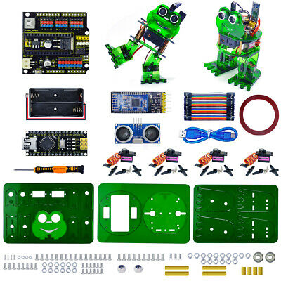 Keyestudio Electronic Diy Dance Frog Robot Starter Learning Kit For Arduino Nano