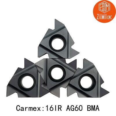 Carmex 16ir Ag60 Bma 38 Carbide Insert Threading Inserts Lathe Cutting Tools