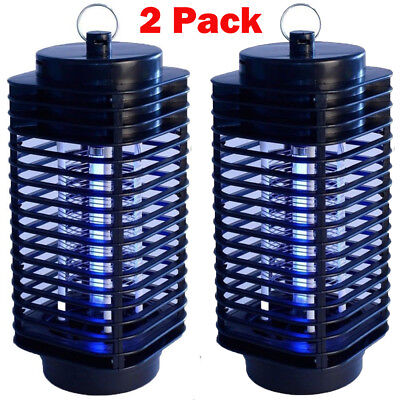 (2pack Electric Mosquito Fly Bug Insect Zapper Killer Trap Lamp 110V Stinger Pest)