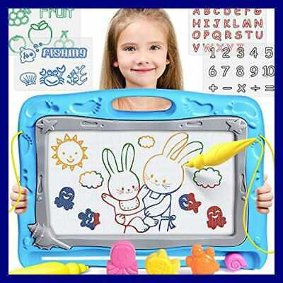 Magnetic Drawing Board Toddler Toys For Kids LARGE Magna Doodle Colorful Erasabl