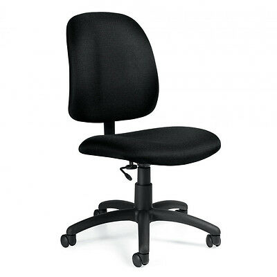 Computer Desk Chair - Goal Low Back Armless Office Chairs