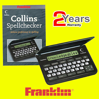 Franklin SPQ109 Collins Proficiency in Spellings Pocket Spell Checker + 6 Games