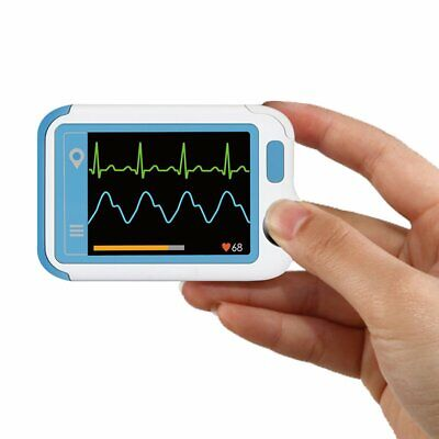 Portable Ecg Monitor With Pc Software Handheld Heart Rate Monitor With Waveform