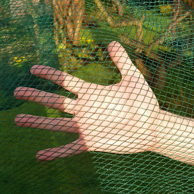 GREEN Butterfly Protection Netting Crop Veg Garden 8m Wide x 12m Long