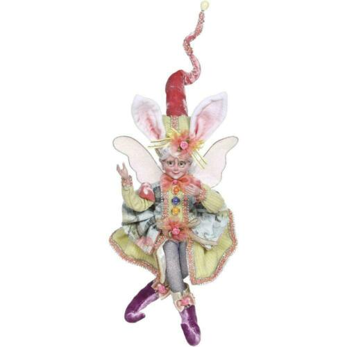 """NEW Mark Roberts 2020 Easter Girl 9.5"""" Collectible Elf Fairy Spring Colorful NIB"""