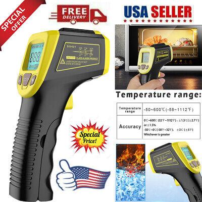 Laser Infrared Thermometer Non-contact Digital Ir Temperature Pyrometer Gun Us
