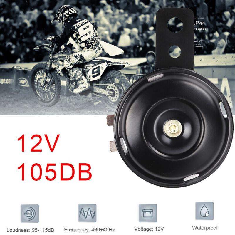 12V 105db Laut Schwarz Universal Hupe Ersatz Horn Für Motorrad Roller Motorräder
