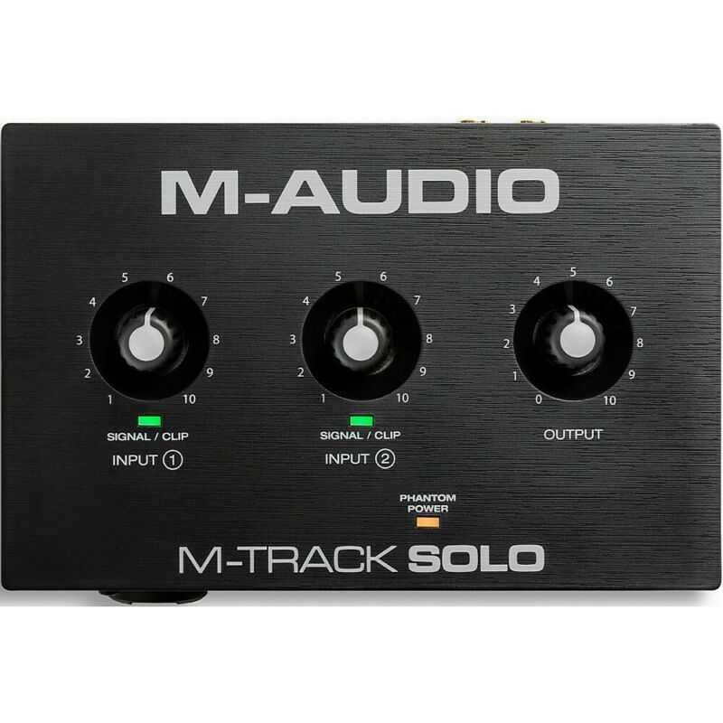 M-Audio M-Track Solo 2-Channel USB Audio Interface