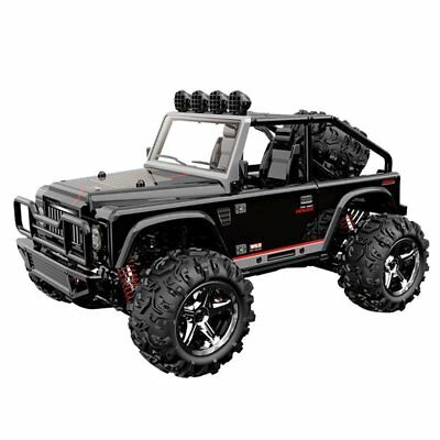 - NEW Gas RC Cars Off Road Electric Powered Remote Control Buggy Toys Black 45km/h