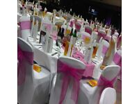 Hire chair cover for 70p per cover and 90p per Chair Cover & Sash in Aberdeen