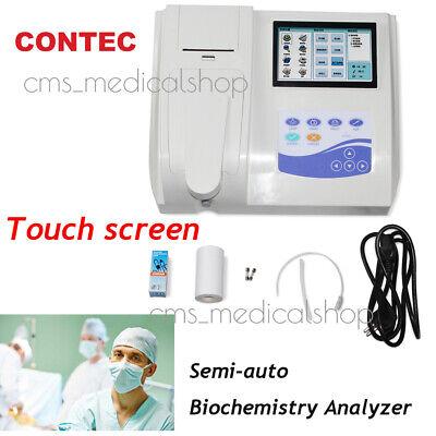 Touch Screen Semi-auto Biochemistry Analyzer Blood Other Body Fluid Self-check