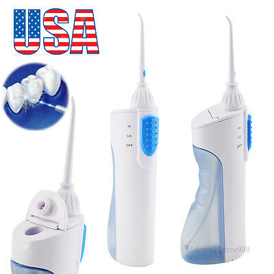 USA Portable Cordless Dental Oral Irrigator Water Jet Flosser Floss Teeth Clean