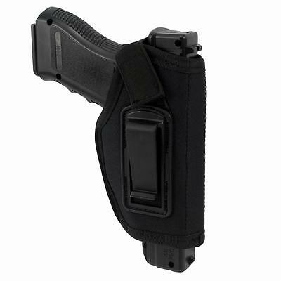 Concealed Belt Holster IWB Holster for All Compact Subcompact Pistols Black