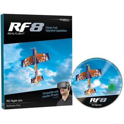Great Planes Realflight Real Flight 8 RF8 Upgrade Disk / Software Only GPMZ4558