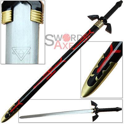 Dark Link Legend of Zelda Master Sword - Carbon Steel Twilight Skyward Replica