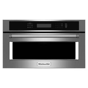 27-inch KitchenAid Built-in Microwave Oven, 1.4 cu ft, Stainless, Showroom