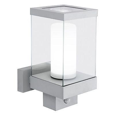 Außenlampe mit Melder Wandleuchte Bewegungsmelder Sensor Eglo Downtown 22435