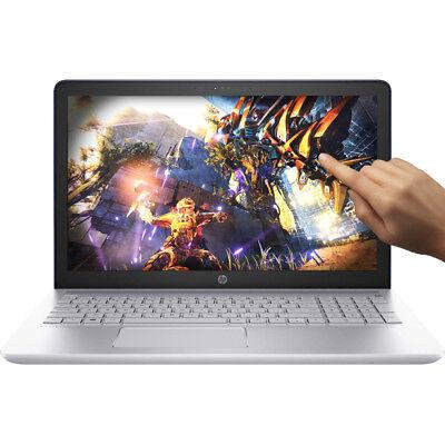 "NEW HP 15.6"" i7-8550U 4GHz NVIDIA 940MX 16GB 1TB HDD DVD Win 10 Touch Gaming"